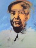 Photo Mao revu par A. Warhol